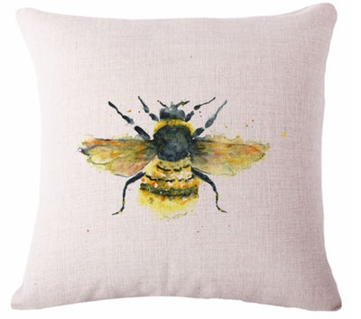 🐝BUMBLEBEE PILLOW COVER, Package:1 PCS Cushion Cover - Busy Bee Emporium