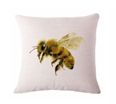 🐝BEE PILLOW COVER, Package:1 PCS Cushion Cover🐝 - Busy Bee Emporium