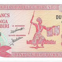 BURUNDI 20 Francs 🌎💷 P - 27d, UNC; 2007 💷🌎👩 Dancer - Busy Bee Emporium