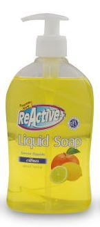 REACTIVE + LIQUID HAND SOAP - CITRUS 500ml