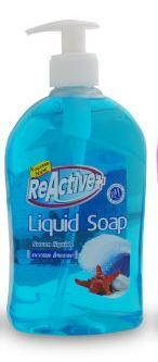 REACTIVE + LIQUID HAND SOAP - OCEAN BREEZE 500ml