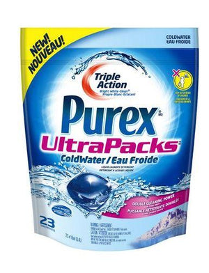 PUREX 4-in-1 COLDWATER ULTRA PACKS - 23 CAPSULES