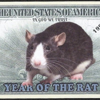 Chinese New Year 🎆 Fantasy Note 💶🐀🐀 YEAR OF THE 🐀 RAT 🐀🐀💶 - Busy Bee Emporium