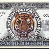 One Million Fantasy Note 💶🐅🐯 CHINESE YEAR OF THE TIGER 🐯🐅💶 - Busy Bee Emporium