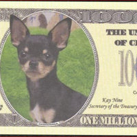 CHIHUAHUA🐕🐶 Million Note 💴🐶🐕 Fantasy Note - Busy Bee Emporium