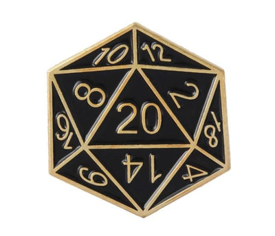 DUNGEONS & DRAGONS DICE PIN -  🎲 - Busy Bee Emporium