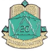 DUNGEON MASTER PIN -  🎲 - Busy Bee Emporium