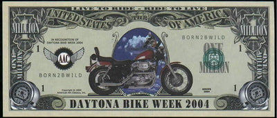 DAYTONA BIKE WEEK 2004 💶🏍 One Million Fantasy Money 🏍💴 Born 2B Wild - Busy Bee Emporium