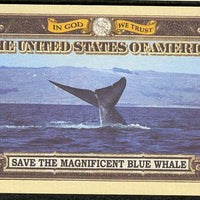 BLUE WHALE 🐳 One Million Fantasy Note 🐳 Endangered Species Series - Busy Bee Emporium