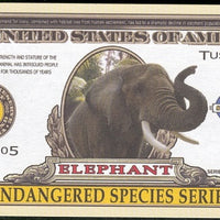 ELEPHANT 🐘 One Million Fantasy Note 🐘 Endangered Species Series - Busy Bee Emporium