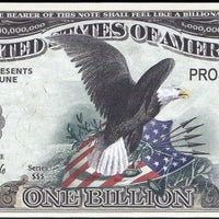 PROSPERITY Billion NOTE 💶🦅 Signing of Declaration and American Bald Eagle 🦅💶 - Busy Bee Emporium
