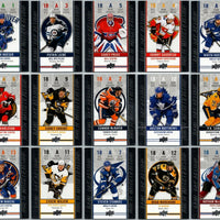 Tim Horton's Upperdeck Hockey Insert: Game Day Action: Complete Set HGD-1 to HGD-15 - Busy Bee Emporium