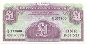 BRITISH ARMED FORCES 🌎💷 1 Pound PM - 36 💷🌎 UNC from 1962 - Busy Bee Emporium