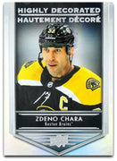 Tim Horton's Upperdeck Hockey Insert: Highly Decorated: HD - 10 Zdeno Chara - Busy Bee Emporium