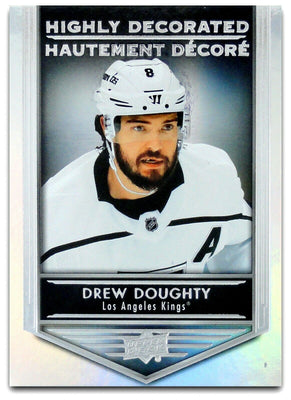 Tim Horton's Upperdeck Hockey Insert: Highly Decorated: HD - 6 Drew Doughty