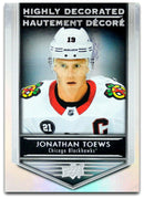 Tim Horton's Upperdeck Hockey Insert: Highly Decorated: HD - 7 Jonathan Toews - Busy Bee Emporium