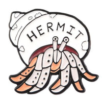 HERMIT PIN -  🦀 - Busy Bee Emporium
