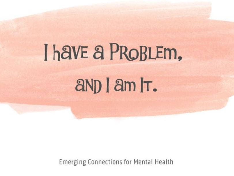 I Have a Problem; and I am It. – Notecard (139mm x 107mm) - Busy Bee Emporium
