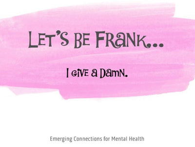 Let's Be Frank; I Give a Damn. – Notecard (139mm x 107mm) - Busy Bee Emporium