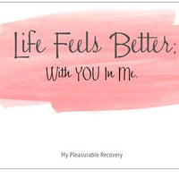 LIFE FEELS BETTER Notecard (139mm x 107mm) - Busy Bee Emporium