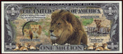 LIONS Fantasy Note 💶 🦁🦁 One Million 🦁 LIONS 🦁🦁💶 Wildlife Series - Busy Bee Emporium
