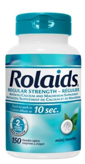ROLAIDS REGULAR STRENGTH 550mg