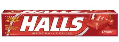HALLS COUGH TABLETS - CHERRY - 9 PIECES