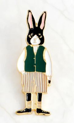 MR. RABBIT PIN -  🐰