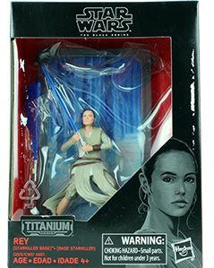 STAR WARS -THE FORCE AWAKENS - TITANIUM SERIES FIGURINE - REY
