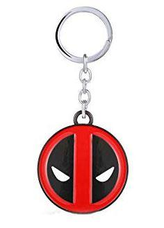DEADPOOL - KEY CHAIN - STAINLESS STEEL - Busy Bee Emporium