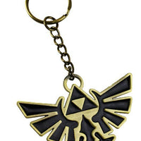 LEGEND OF ZELDA - KEY CHAIN - BRASS FINISH
