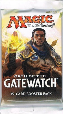 MTG: OATH OF GATEWATCH 🧙‍♂️🧝‍♂️ ENGLISH Booster Pack - Busy Bee Emporium