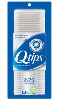 Q-TIPS COTTON SWABS - 625; Get More- Pay Less!