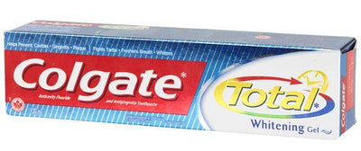 COLGATE - TOTAL WHITENING GEL 130ml