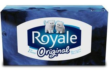 ROYALE - ORIGINAL TISSUES 2 PLY; 126 TISSUES