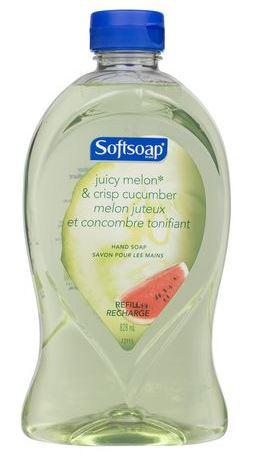 SOFTSOAP - JUICY MELON & CRISPY CUCUMBER HAND SOAP 828ml