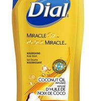 DIAL MIRACLE OIL - COCONUT OIL BODY WASH 473ml