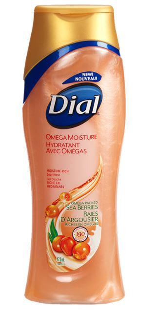 DIAL - OMEGA MOISTURE SEA BERRIES BODY WASH 473ml