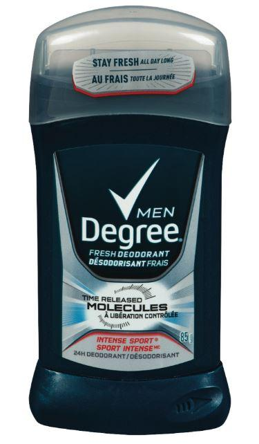 DEGREE MEN'S DEODORANT - INTENSE SPORT 85g