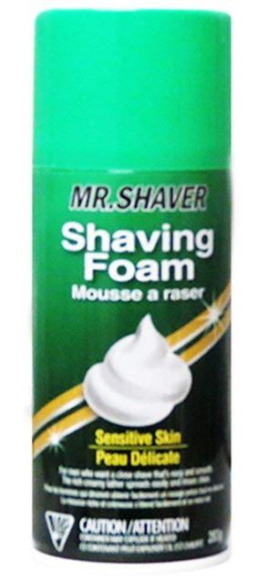 MR. SHAVER - SENSITIVE SKIN SHAVING FOAM 283g