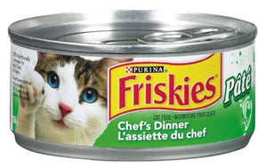 PURINA - FRISKIES - CHEF'S DINNER - PATE CAT FOOD 156g