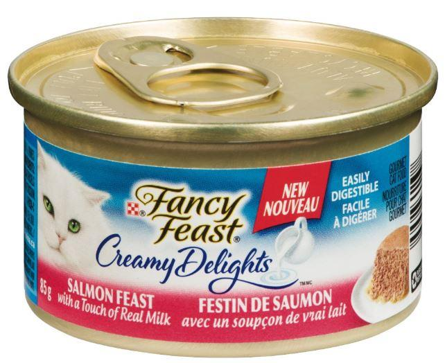 PURINA - FANCY FEAST CREAMY DELIGHTS SALMON FEAST CAT FOOD -85g