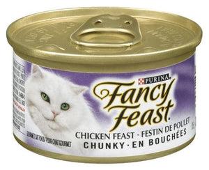 PURINA - FANCY FEAST CHUNKY CKICKEN FEAST CAT FOOD - 85g