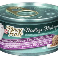 PURINA - FANCY FEAST WHITE MEAT CHICKEN TUSCANY CAT FOOD - 85g