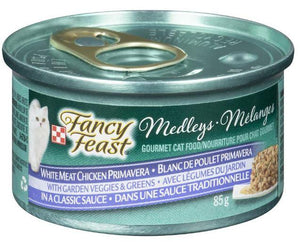 PURINA - FANCY FEAST WHITE MEAT CHICKEN PRIMAVERA CAT FOOD- 85g