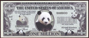 PANDA BEARS Fantasy Note 💶🐼🐼 One Million Lovable 🐼 PANDA BEARS 🐼🐼💶 Wildlife Series - Busy Bee Emporium