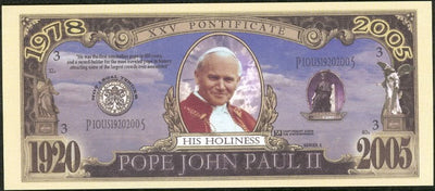 POPE JOHN PAUL II 💶⛪⛪His Holiness ⛪ xxv Pontificate 💶 - Busy Bee Emporium