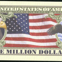 PROUD TO BE AN AMERICAN 💶 🦅 MILLION Fantasy Note 🦅