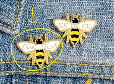 BEE KIND PIN - 🐝 - Busy Bee Emporium
