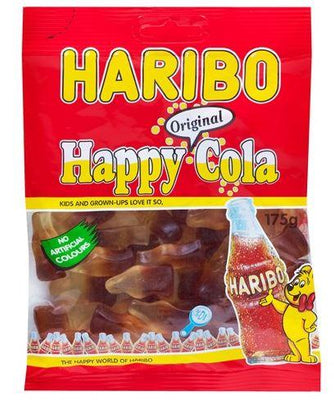 HARIBO HAPPY COLA GUMMY CANDY 175g